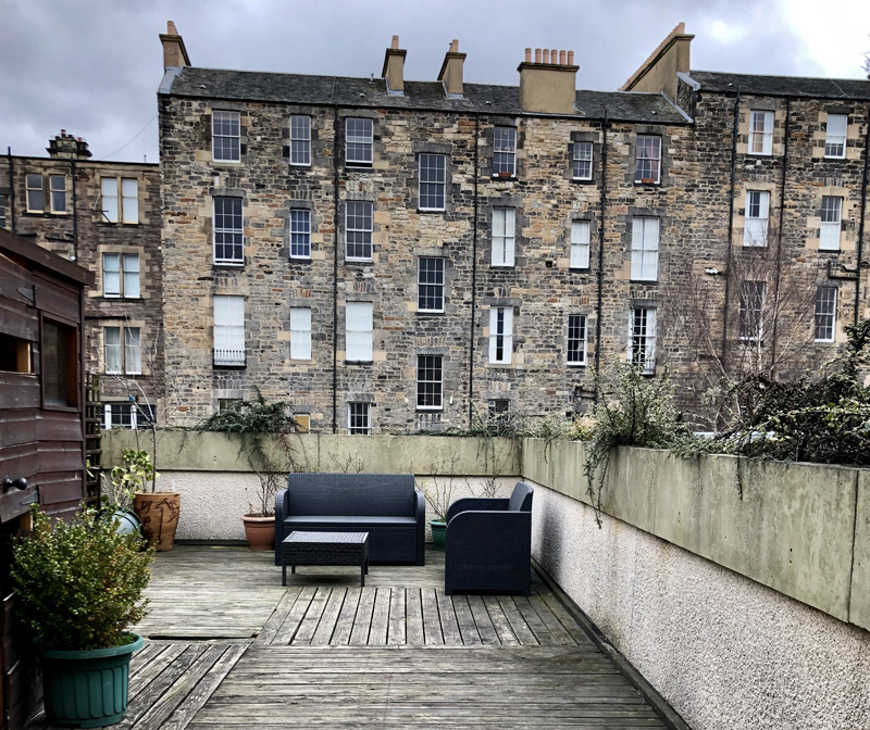airbnb edinburgh