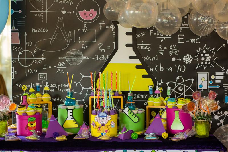 mad science kinderfeestje