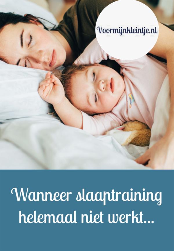 slaaptraining werkt niet