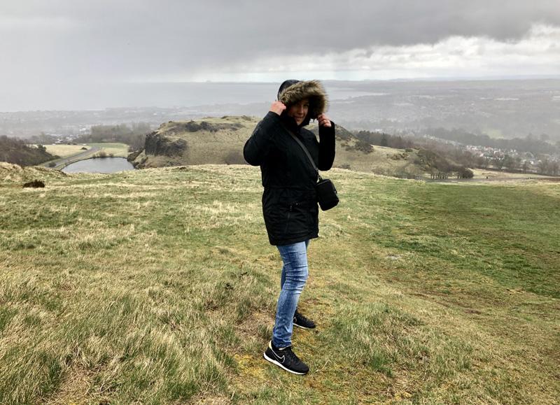 wandeling edinburgh