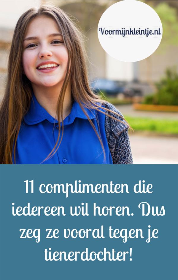 complimenten tienerdochter