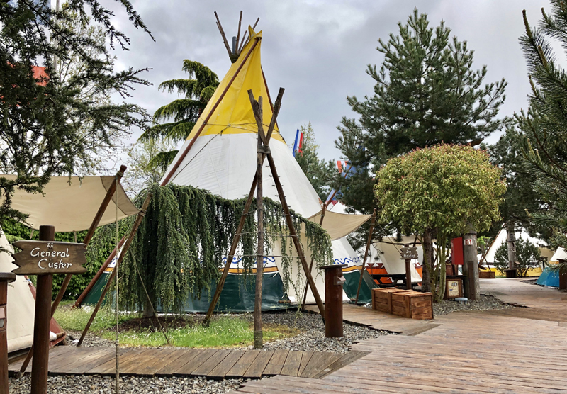 sfeer tipi tent europa park