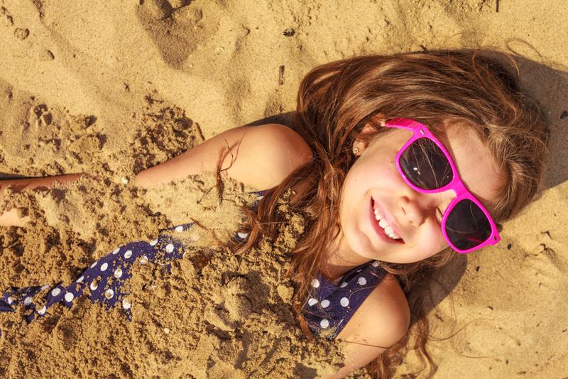 strand spelen