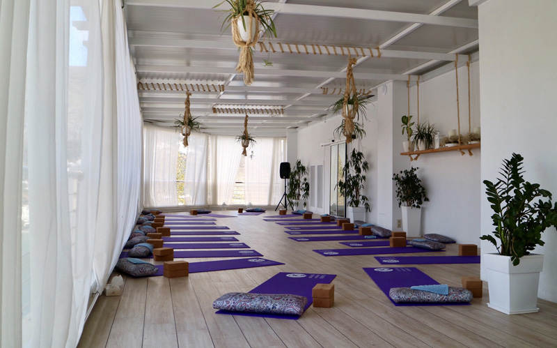 Yoga Retreat bij Aegialis