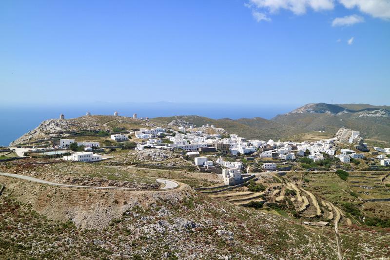 chora Griekse amorgos