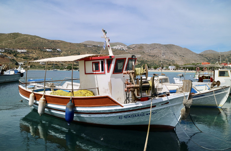 haven amorgos Aegiali