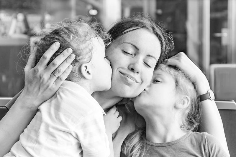 moederschap niet makkelijk