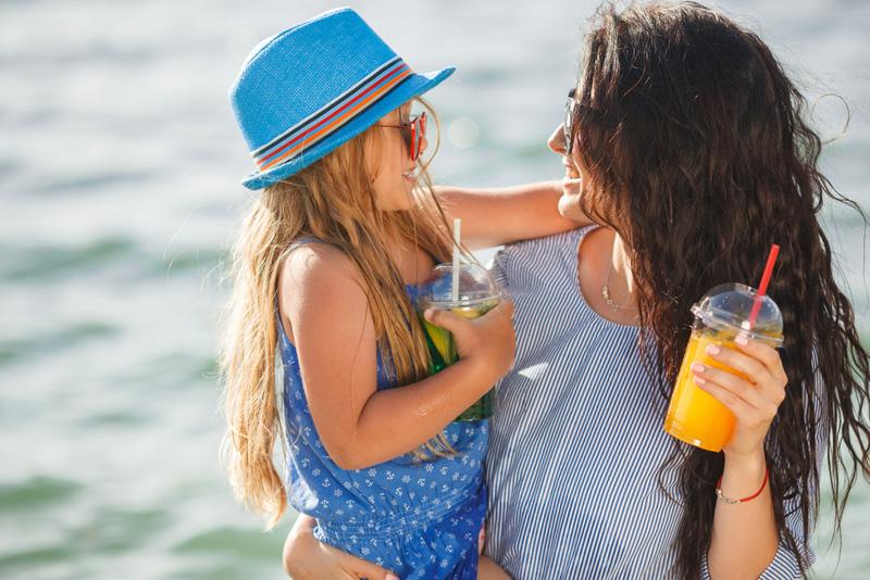 zomer leuke moeder
