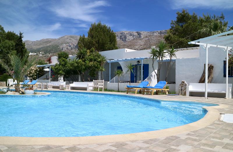 zwembad lakki village amorgos