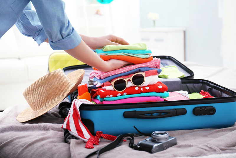 inpakken bagage gezin