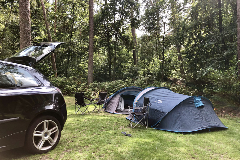 natuurplek camping jutberg