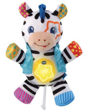vtch knuffel zebra baby