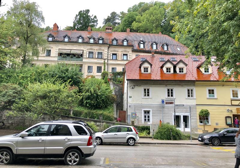 airbnb castle view ljubljana