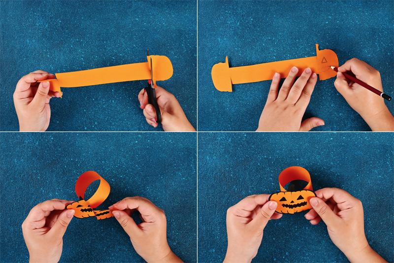 halloween knutsel maken