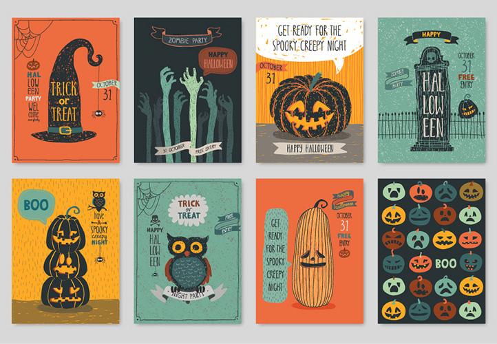 halloween uitnodigingen