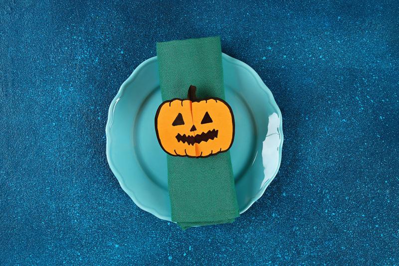 pompoen knutsel halloween