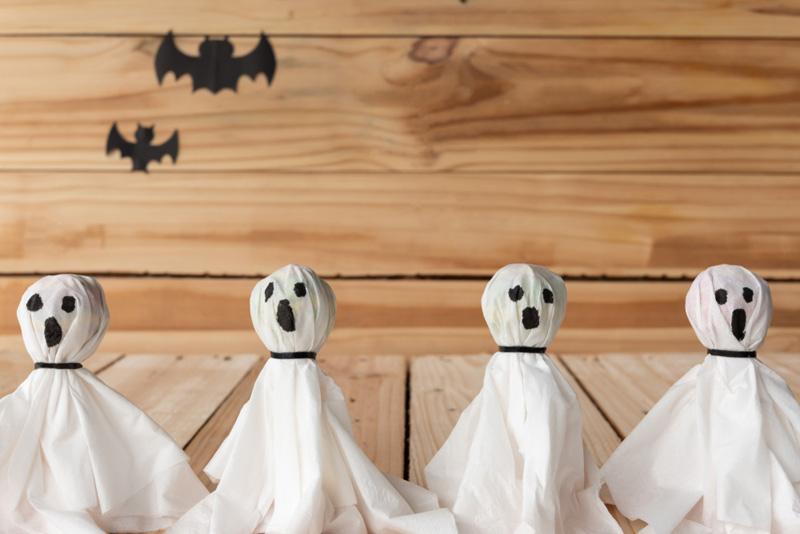 spookjes maken halloween