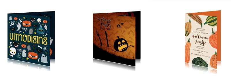 uitnodiging halloween online