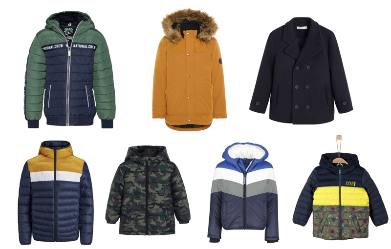 winterjas onder 50 euro jongen