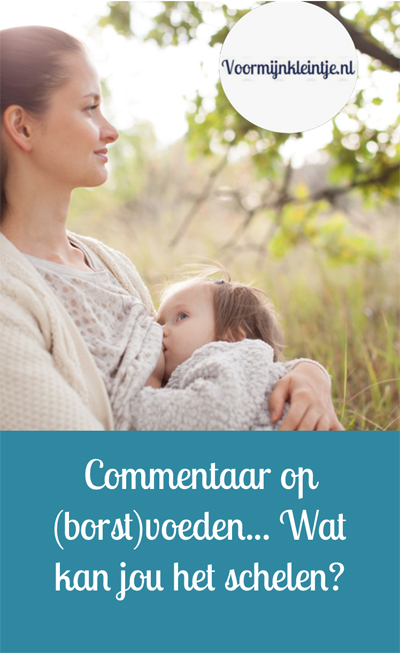 commentaar borstvoeding