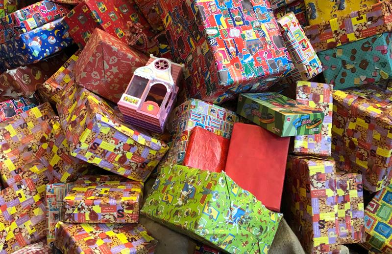 Sinterklaas inkopen