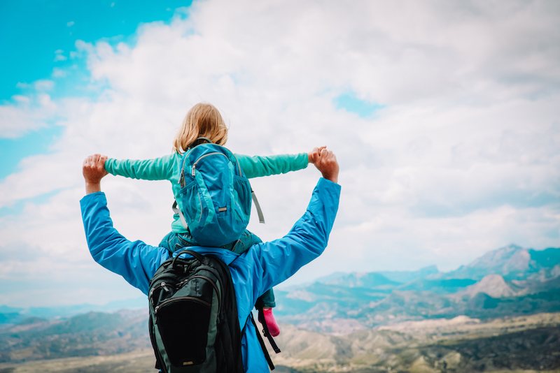 samen reizen kind