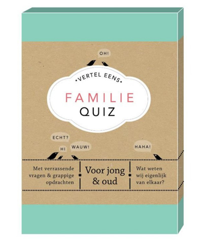 sinterklaas familie quiz