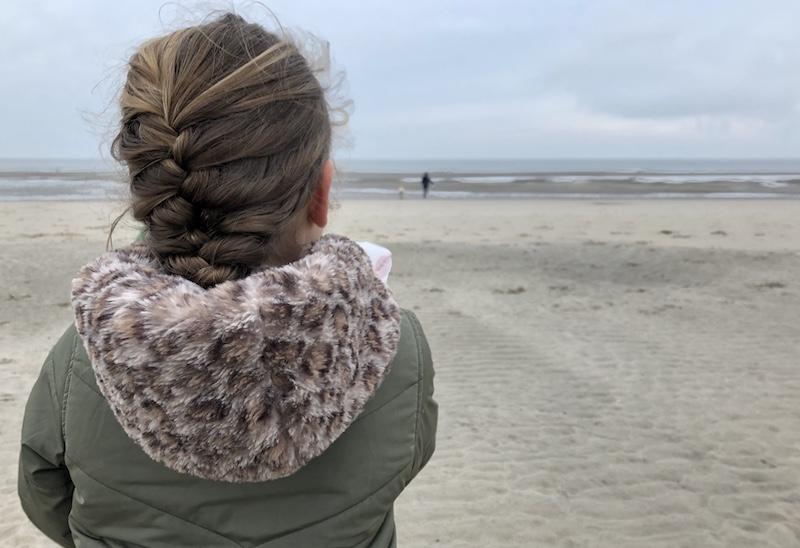 Texel strand winter