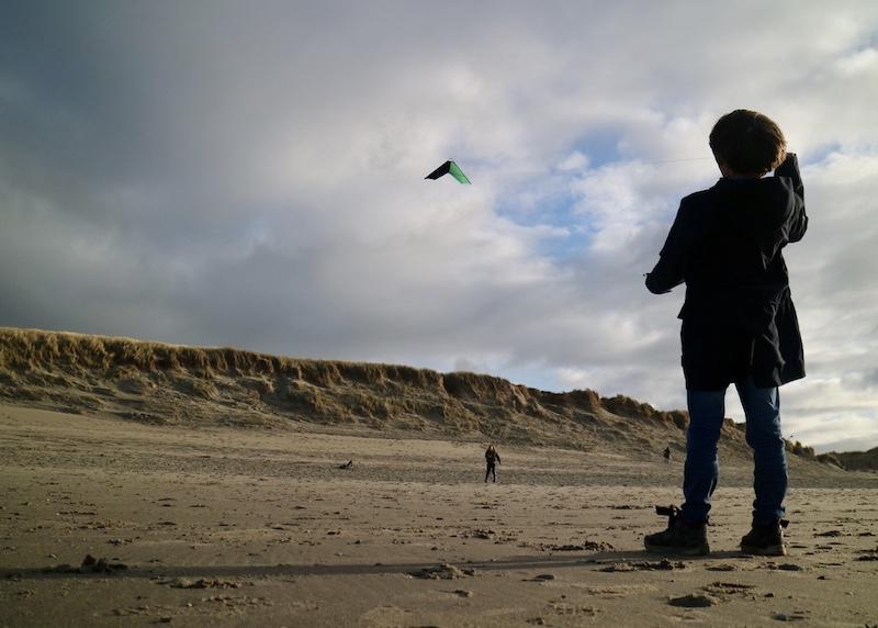 texel winter vliegeren