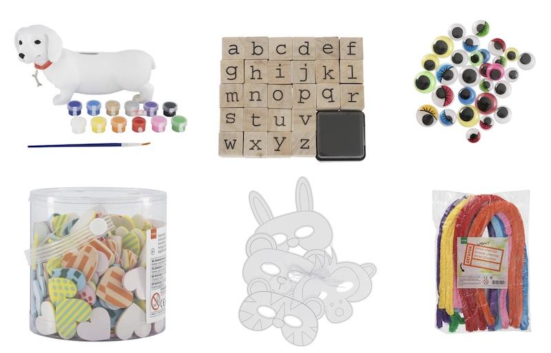 speelgoed creatief HEMA
