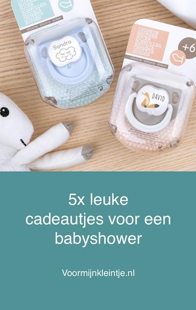 persoonlijke originele babyshower cadeautjes