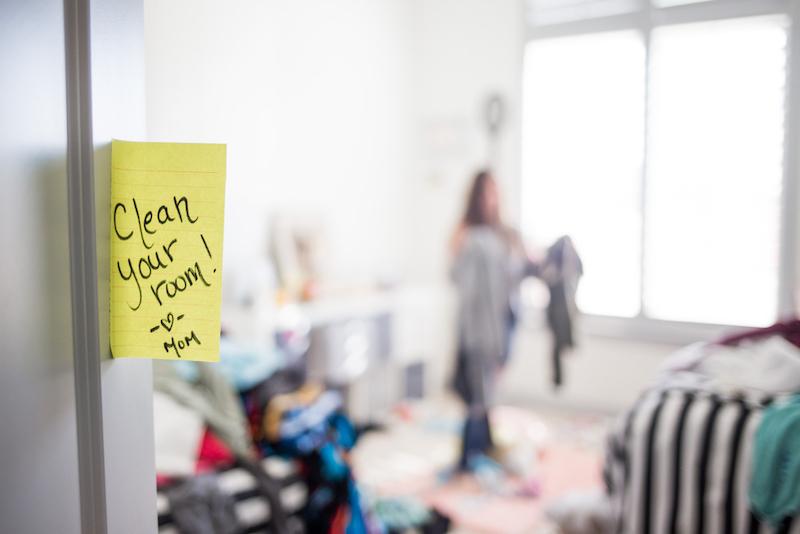 kinderen rommel kamer