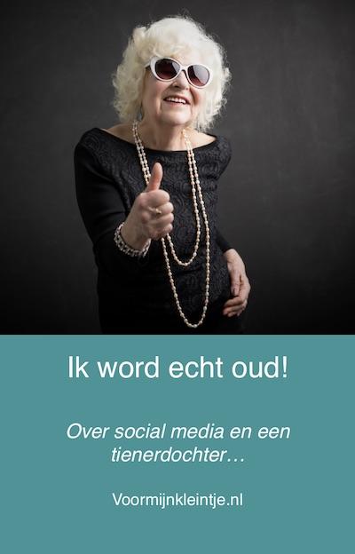social media oud voelen