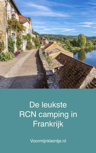 leuke rcn campings Frankrijk