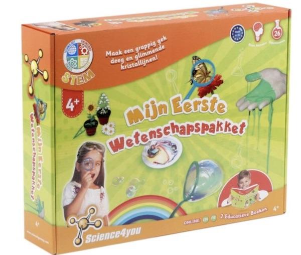 educatief speelgoed voor een vierjarige