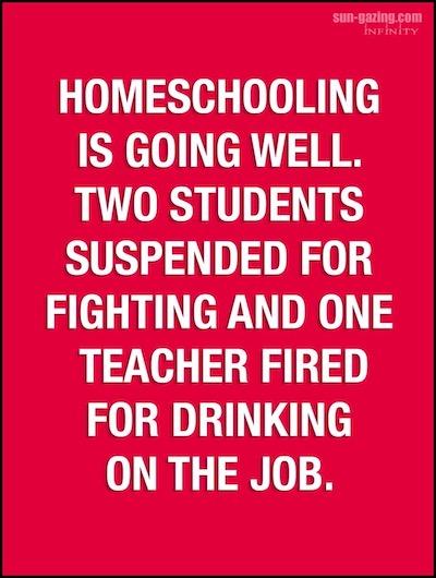 thuisschool kinderen