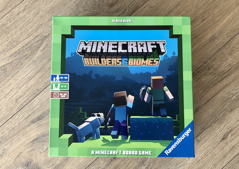 review minecraft bordspel