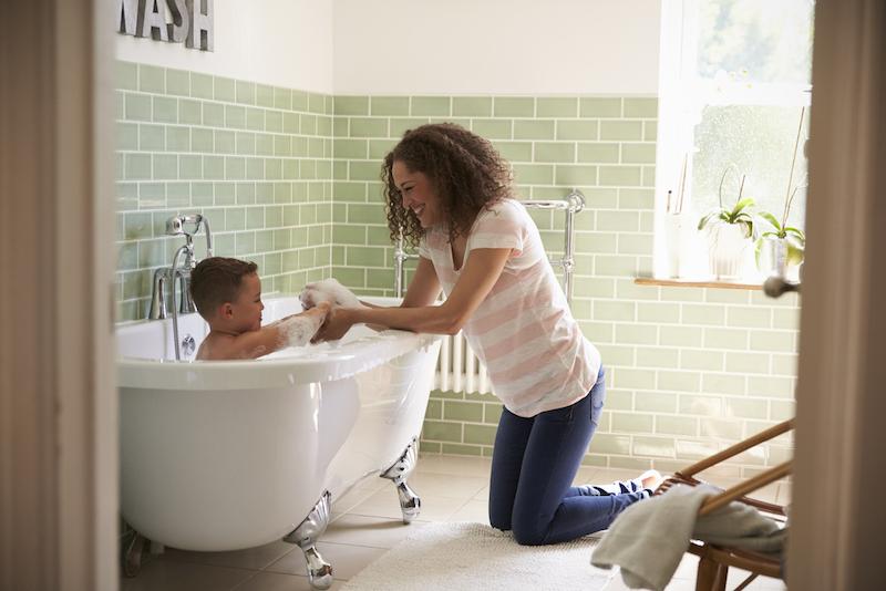 kindvriendelijk badkamer inrichten