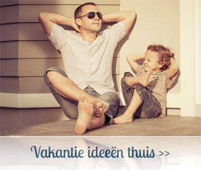 vakantie thuis