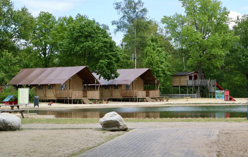 vakantiepark recreatieplas
