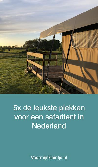 plekken safaritent nederland