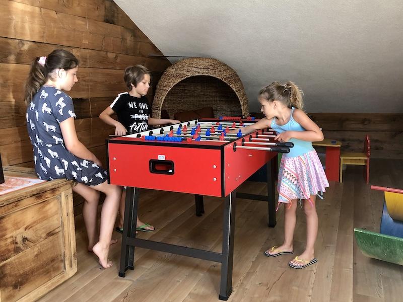 vakantieboerderij speelkamer