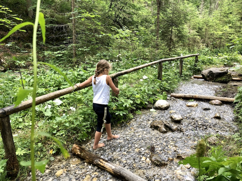 Ehrwald Wassererlebnisweg zugspitze kindvriendelijke wandeling
