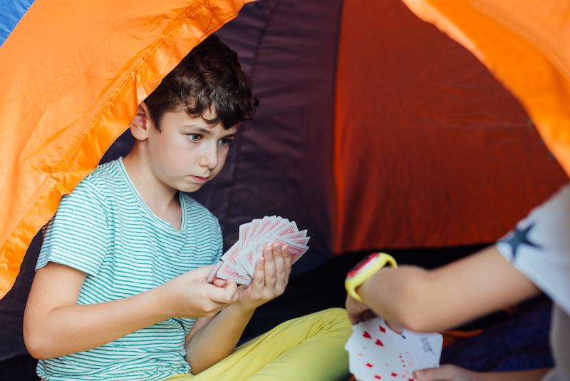 spelletjes camping activiteit