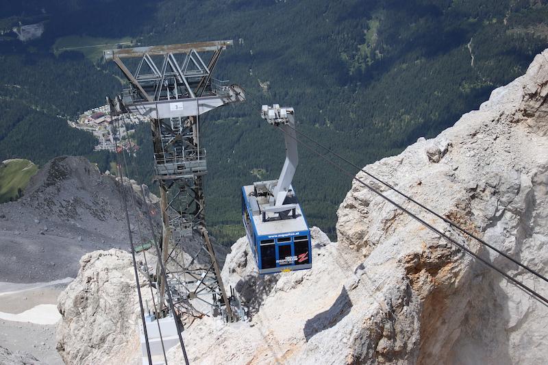 kabelbaan Zugspitze