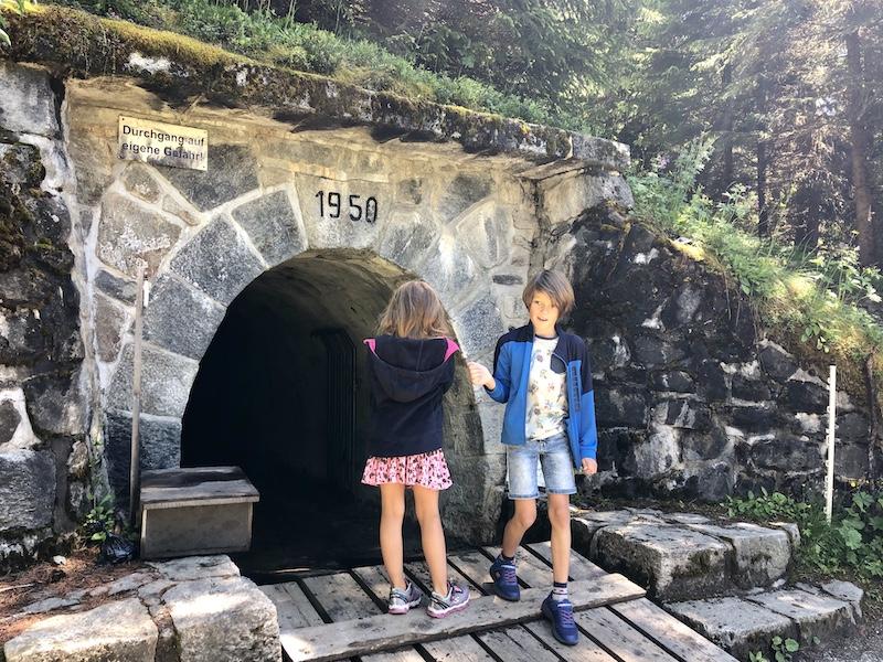 wandeling tunnel oostenrijk