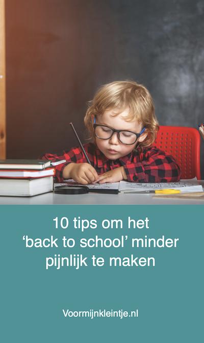 terug naar school tips