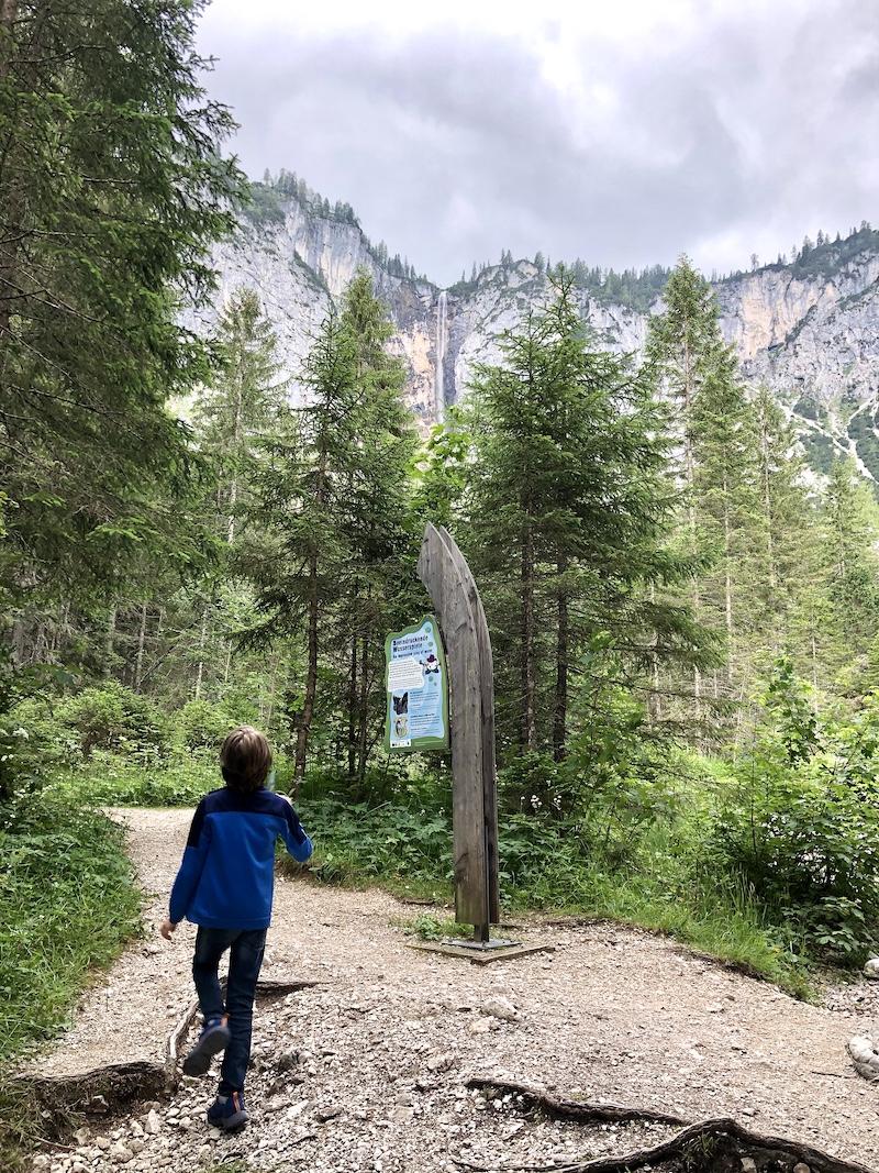 Ehrwald Wassererlebnisweg zugspitze