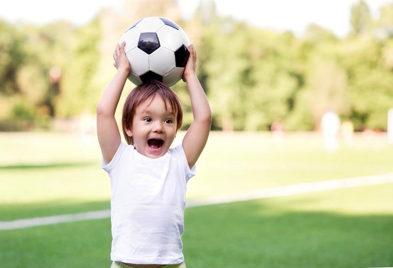 wanneer kind voetbal