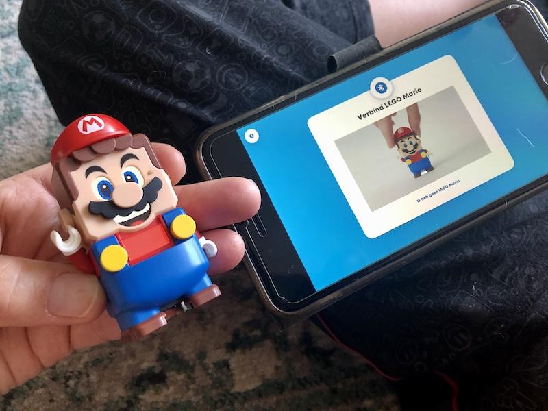 ervaringen LEGO Super Mario app
